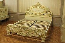 Doppelbett Bett 180x200 Schlafzimmer Antik StilStil Barock Vp7731Q