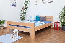 Doppelbett Easy Premium Line K6,160 x 200 cm Buche