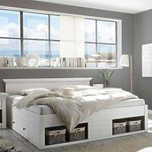 Doppelbett Ehebett inkl. 2x Bettschubkasten & 4