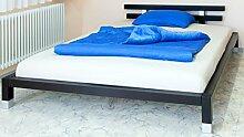 Doppelbett Futonbett 160x200 schwarz - (3160)