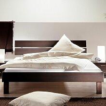 Doppelbett in Wenge Dekor Schlafzimmer