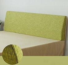 Doppelbett Kopf Dreieckige Kissen Kissen Kissen Lendenkissen Sofa Rückenlehne Soft Case ( größe : 150*50*10cm , stil : A )