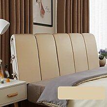 Doppelbett Kopfstütze / Leder Bett mit großer Rückenlehne / Bett Weiche Rückenlehne / Sofa Comfort Kissen / Nachttisch Kissen ( Farbe : B , größe : 190*60cm )
