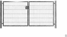 Doppelflügeltor Einfahrtstor Gartentor verzinkt