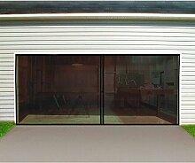 Doppelgarage Tür Bildschirm 16FT. W x 7ft H