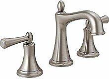 Doppelgriff Badezimmer Küchenarmatur - Nickel