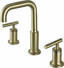 Doppelgriff Wasserhahn Bad,Waschbeckenarmatur