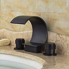 Doppelgriffe Becken Wasserhahn Waschbecken