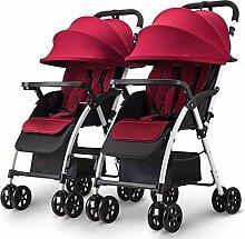 Doppelkinderwagen Kinderwagen Abnehmbare Infant