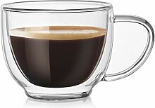 Doppelschichtige Home Used Cafe Espresso