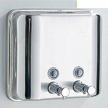 Doppelseifenspender/Edelstahl Hand Sanitizer