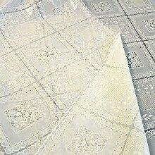 Doppelseitig,europäisch,ländlichen,spitzen sie tischdecke/burn-proof,einweg-tischdecke/wasserdicht,pvc,wasserdicht tischdecke/untersetzer-C 180x136cm(71x54inch)