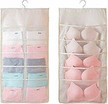 Doppelseitige 30 Taschen Hängen Closet Organizer