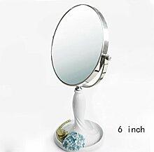 Doppelseitige Desktop-Highlight Vanity Mirror Prinzessin Folding Mirror , 8