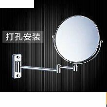 Doppelseitiges Schiebevergrößerungsspiegel/Drehspiegel/Folding Spiegel/Badspiegel Teleskop-B