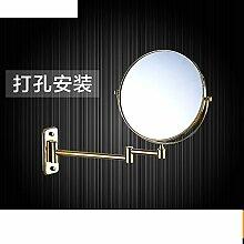 Doppelseitiges Schiebevergrößerungsspiegel/Drehspiegel/Folding Spiegel/Badspiegel Teleskop-C