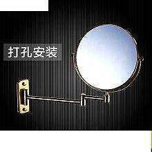 Doppelseitiges Schiebevergrößerungsspiegel/Drehspiegel/Folding Spiegel/Badspiegel Teleskop-F