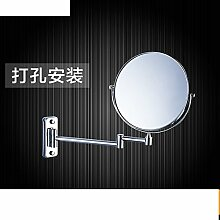Doppelseitiges Schiebevergrößerungsspiegel/Drehspiegel/Folding Spiegel/Badspiegel Teleskop-A