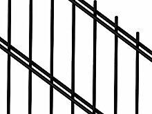 Doppelstabmattenzaun | Gartenzaun | Komplettset |