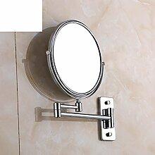 Doppelte doppelseitige Wandspiegel/Rotierenden