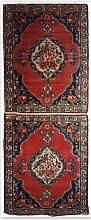 Doppelter antiker Tabriz Teppich, 1910er