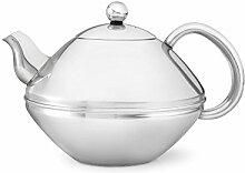 doppelwandige Teekanne Minuet® Ceylon Edelstahl