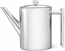 doppelwandige Teekanne Minuet® Cylindre Edelstahl