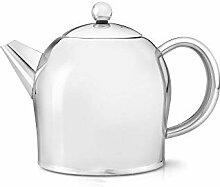 doppelwandige Teekanne Minuet® Santhee Edelstahl