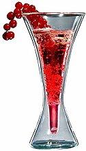 Doppelwandiges Cocktailglas