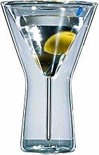 Doppelwandiges Martiniglas
