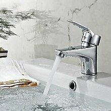 Doppelwaschtisch-Armatur Waschbecken Wasserhahn voll Kupfer Wasserhahn