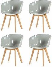 DORAFAIR 4er Set Stuhl Skandinavisch Modern