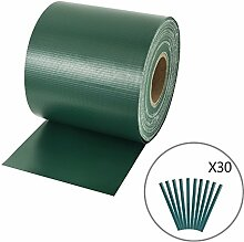 DORAFAIR PVC Sichtschutzstreifen für Zäune mit