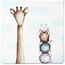 Dori´s Prints Giraffen Bild I Kinderzimmer Bilder