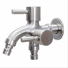 dorisdoll Edelstahl Waschmaschine Wasserhahn 1in 2