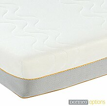 Dormeo Optionen Hybrid Matratze 100Prozent Polyester–King 150cm