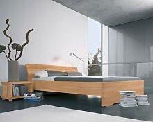 Dormiente Massivholz-Bett Adana Kirschbaum 120x200