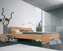 Dormiente Massivholz-Bett Adana Nussbaum 200x200 cm