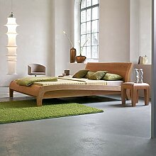 Dormiente Massivholzbett Beluga - 180x200 cm -