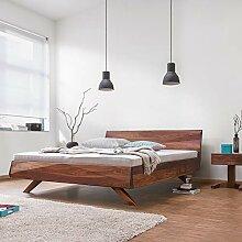 Dormiente Massivholzbett Gabo - 180x200 cm -