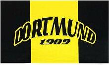 Dortmund Fahne Meisterfahne Flagge Dortmundfahne Hissfahne Zimmerfahne, wählen:FL-DO05 Dortmund 1909