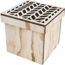 Dose Box Urban Jungle Design Holz natur