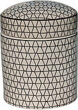 Dose KLARA mit Deckel aus Keramik 12 x 15 cm