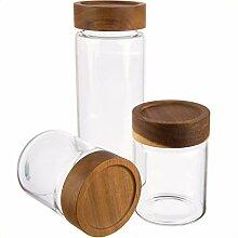 Dosenritter | 3X Vorratsglas/Gewürzgläser aus