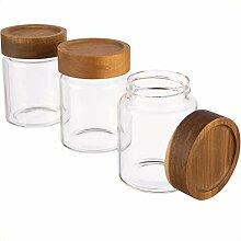 Dosenritter | 3X Vorratsglas/Glasbehälter aus
