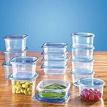 Dosenset, 30 Teile , Aufbewahrungsdosen für Lebensmittel