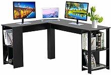 DOSLEEPS Computer-Schreibtisch, L-förmig, große