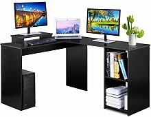 DOSLEEPS Computer-Schreibtisch, Winkel, L-Große