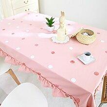 Dot schöne Tischdecken/Tischdecke decke/Tischdecken/ Tischtuch-A 180x130cm(71x51inch)