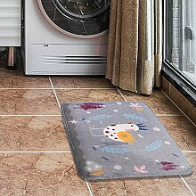 DOTBUY Fußmatte, Teppich Wohnzimmer Flanellstoff